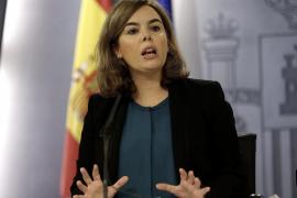 Soraya Sáenz de Santamaría toma las riendas de la crisis del ébola