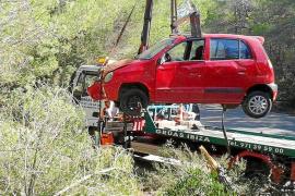 Tres accidentes de tráfico con heridos leves en Santa Eulària, Sant Carlos y Vila