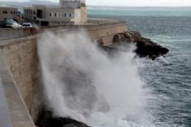 El 112 activa el IG0 en las Pitiüses por fenómenos costeros