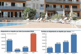 Balears también es líder en alquiler vacacional