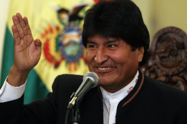 Evo Morales es el ganador oficioso de las elecciones bolivianas