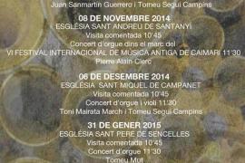 Ciclo de conciertos de órgano 'Stylus Phantasticus'