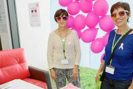 Sonrisas rosas contra el cáncer de mama