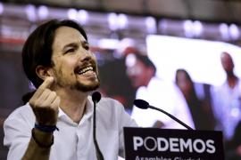 Pablo Iglesias: «No nos conformamos con llegar hasta aquí, salimos a ganar»