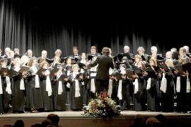 El coro Ciutat d'Eivissa ofrece dos conciertos en Zaragoza