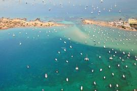 Formentera aglutina más de la mitad de los fondeos de todas las Illes Balears