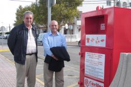 Cáritas Eivissa recogió en 2013 en Sant Josep 54.547 kilos de material textil y juguetes usados