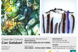 Júlia Ribas y Pau Fornés, en Can Gelabert
