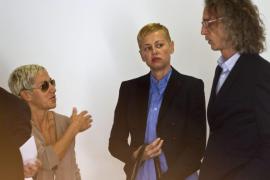 Ana Torroja y Esther Arroyo en el juicio por accidente de tráfico