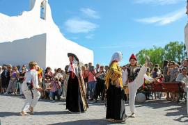 Una festividad de Sant Rafel casi de verano