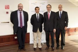 Jaume Ochogavía, Joaquín García, Martí Solà i Albert Pons.