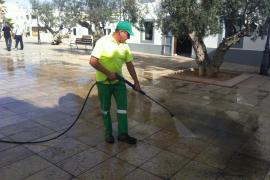Impulsan una campaña de limpieza intensiva en las calles de Sant Francesc Xavier
