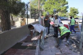 El CEIP Es Vedrà suma 30 nuevas plazas de parking