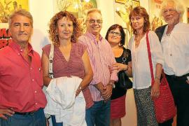 Exposición de carteles en el Teatre Principal de Inca