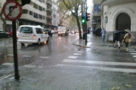 Numerosas incidencias en Balears por la tormenta