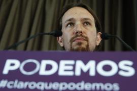 Pablo Iglesias presenta su lista para la dirección de Podemos
