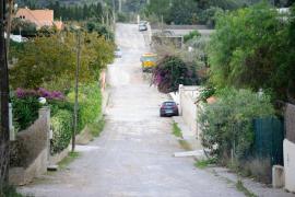 Los vecinos de Sant Rafel reclaman el arreglo de tres caminos del pueblo