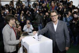 Un 80,7 % de los votantes se decantan por una Catalunya independiente