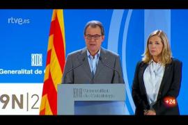 Mas califica la jornada de «éxito total» y critica la «miopía política» de Madrid