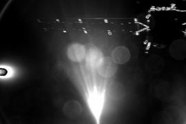 La sonda Philae envía su primera imagen de camino al cometa 67P