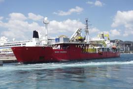 Red Eléctrica iniciará en breve el tendido del cable submarino entre Mallorca e Eivissa