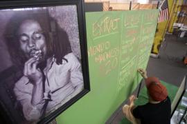 Retrato de Bob Marley