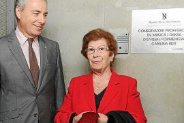Bufí plasmará en un libro la historia de lucha y esfuerzo del Conservatori de Música d'Eivissa