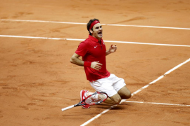 Federer da a Suiza su primera Copa Davis