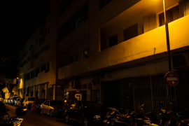 Los vecinos de Es Pratet se quejan de la falta de iluminación en el barrio