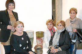 Exposición ceramista en la Tesorería de la Seguridad Social