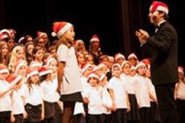 Los coros del Principal cantan a la Navidad