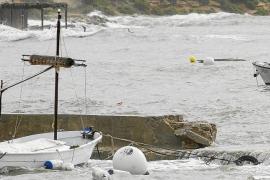 El temporal provoca destrozos en la costa