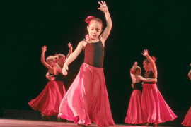 Festival de bailes por Unicef
