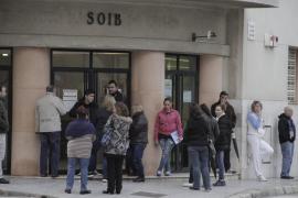 El paro interanual bajó en noviembre un 7,85 % en Balears