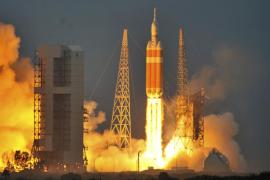 La cápsula Orion parte en su primer vuelo de prueba al espacio