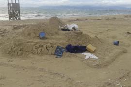 Abandono en la playa
