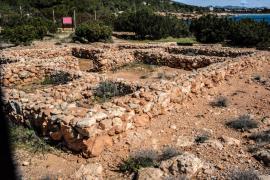 El Consell de Eivissa ejecutará en 2015 la museización del yacimiento de Sa Caleta