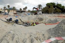 El cable submarino llega a Mallorca