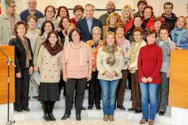 Homenaje al voluntario de Eivissa
