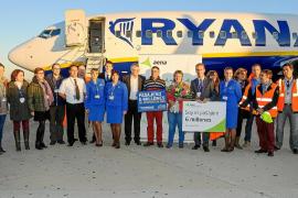 El aeropuerto de Eivissa recibe a su pasajero seis millones