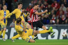 El Athletic gana al BATE y cumple objetivos en su despedida de Champions