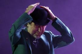 Sabina sufre un ataque de miedo escénico durante un concierto en Madrid