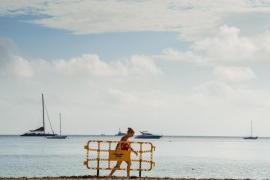 El Ayuntamiento de Eivissa reabre la playa de Talamanca