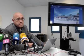 La nueva estación marítima de Eivissa será acristalada e incluirá área comercial