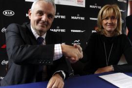 Nadal colabora con la RFET para inculcar a los jóvenes los valores del tenis
