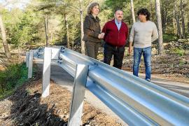 Sant Josep presenta los caminos rurales reparados con la subvención del Consell