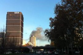 Desalojada la sede del Ministerio de Defensa por un incendio en la azotea