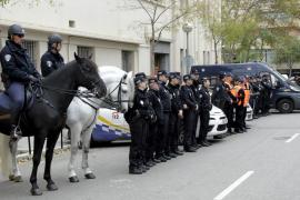 Presentación del dispositivo policial para Navidad.