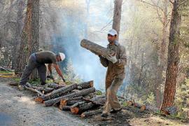 Ocho trabajadores y casi 18.000 euros para impedir los incendios