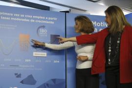 Báñez y Cospedal: España es uno de los «motores de Europa» y un «ejemplo a seguir» en empleo